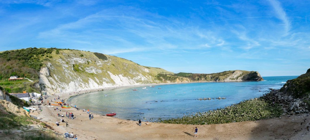 lulworth cover panorama